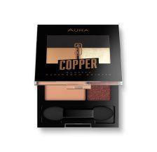 Aura Paleta senki za oči Copper 3,5 g