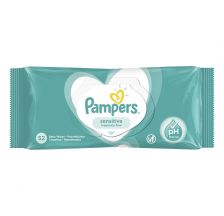 Pampers Sensitive, vlažne maramice, 52 komada