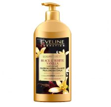 Eveline Luxury Expert BLACK&WHITE VANILLA body milk 350ml