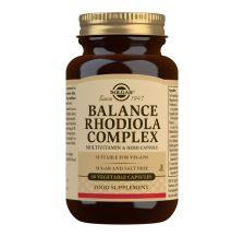 Solgar Balance Rhodiola complex, 60 kapsula