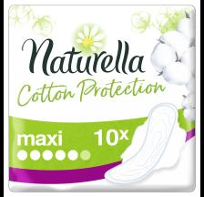 Naturella Cotton Maxi ulošci, 10 komada