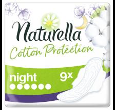 Naturella Cotton Night ulošci, 9 komada