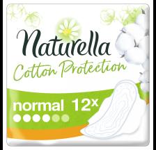 Naturella Cotton Normal ulošci, 12 komada