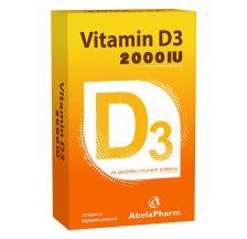 Vitamin D3 2000 IJ, 30 kapsula