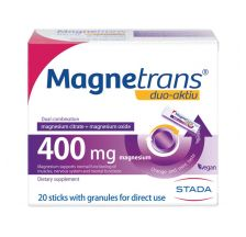 Magnetrans Duo Activ 400mg, 20 kesica