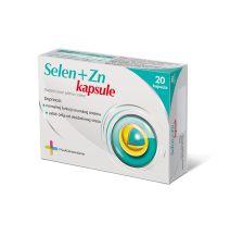Selen + Zn, 20 kapsula