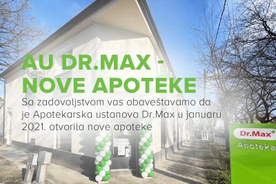 AU DR.MAX – NOVE APOTEKE