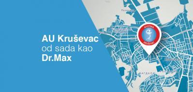 AU Kruševac od sada u sastavu DR MAX apoteka